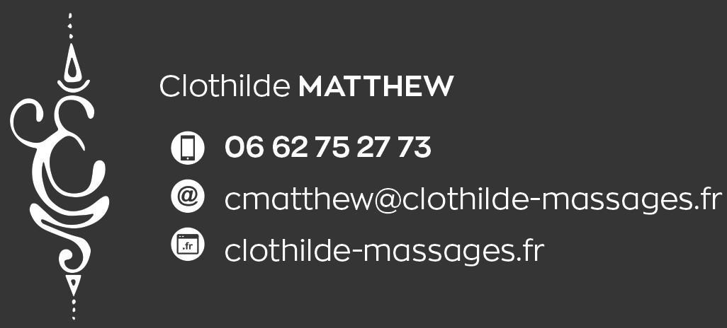 Contact clothilde matthew massages antibes
